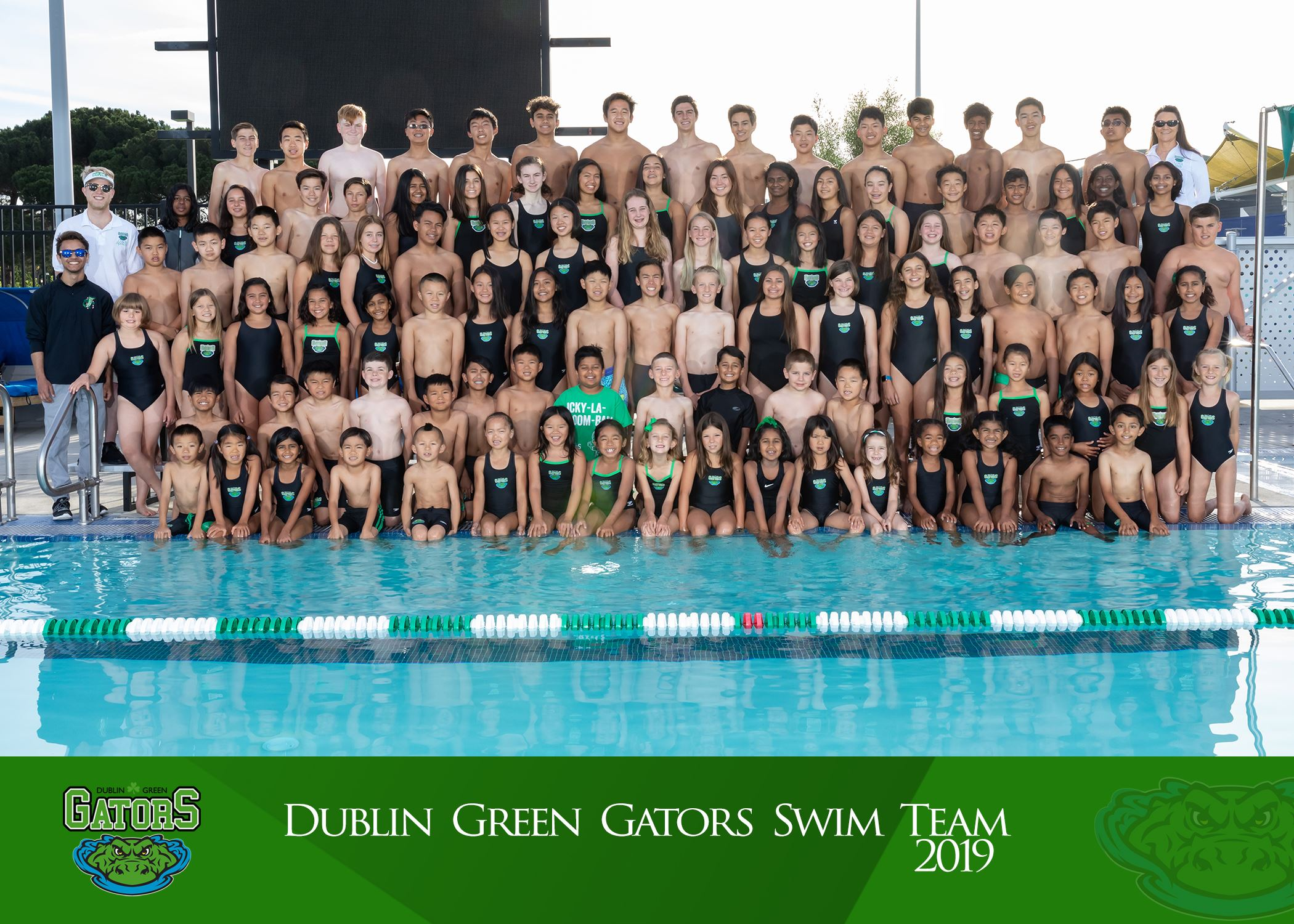 2019 Green Gators Team Photo